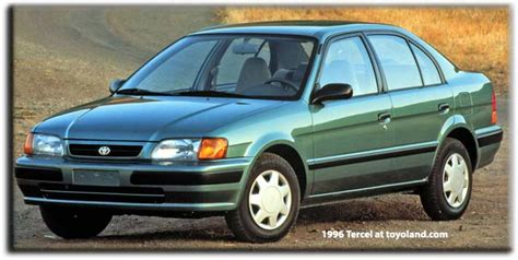 automobile air conditioning repair 1998 toyota tercel electronic toll collection toyota tercel history and information