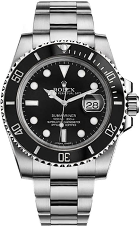 116610 Rolex Submariner Black Dial Mens Automatic Watch.