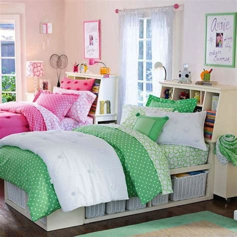 twin girl beds fascinating design ideas for a teen s bedroom