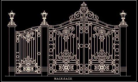 Beautiful Main Gate   Plan n Design