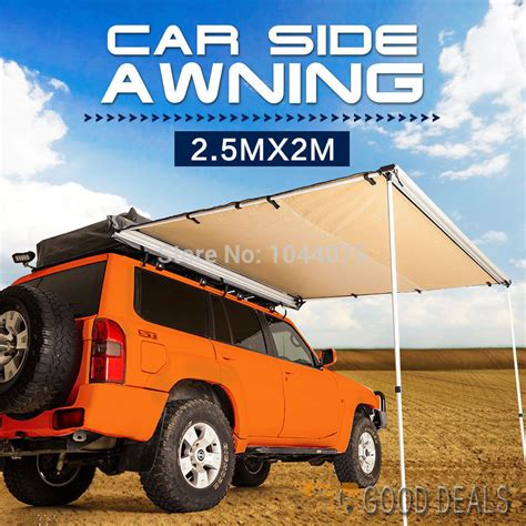 vehicle awnings cing vehicle awnings cing the best 28 images of car shade awning 2 5x3m tough car