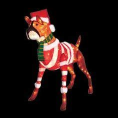 boxer dog xmas decoration 1000 images about on white house smells and