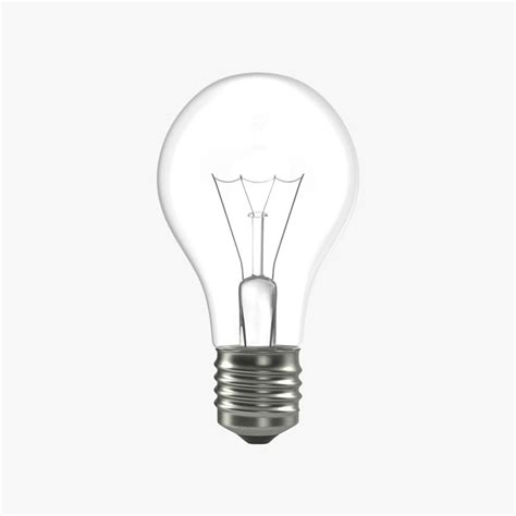 3d Electric Light Bulb Electric Lights