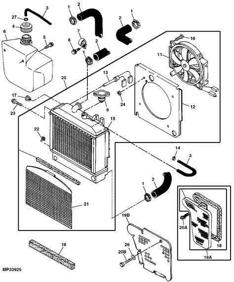 deere gator cooling fan sensor my deere gator is also heating and fan motor is not