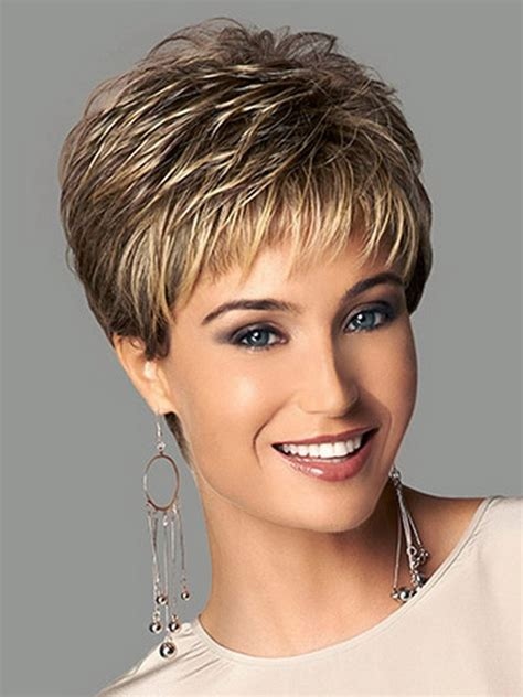 picture of precision grey hair haircut estilos y peinados de moda cortes pixie en capas para