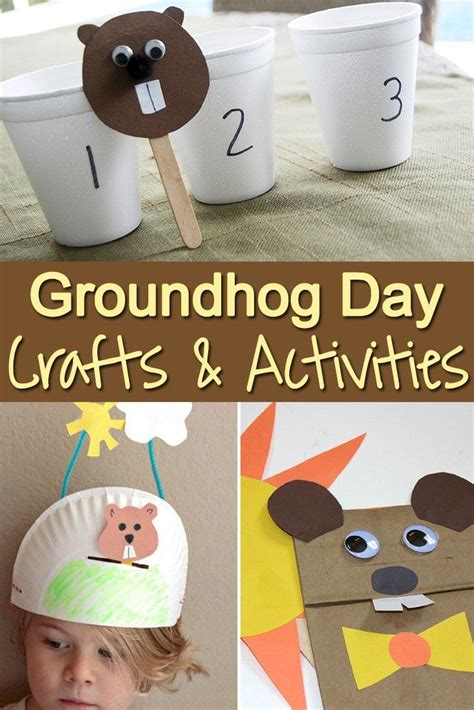 groundhog day supplies best 25 happy groundhog day ideas on the
