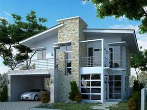 2 storey modern house designs and floor plans two storey modern house designs on 500x349 modern 2