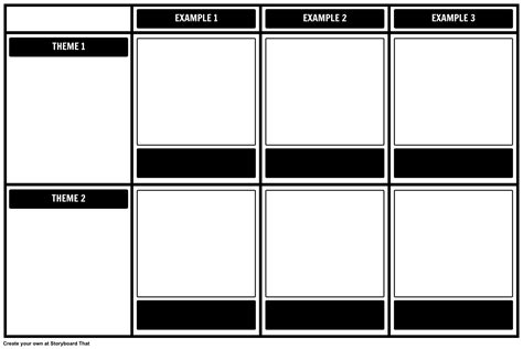 storyboard template create templates with storyboard