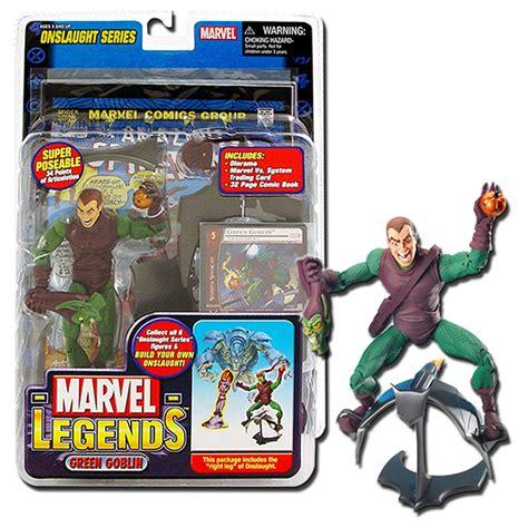 Series 13 5 Goblin marvel legends 13 onslaught series unmasked green goblin