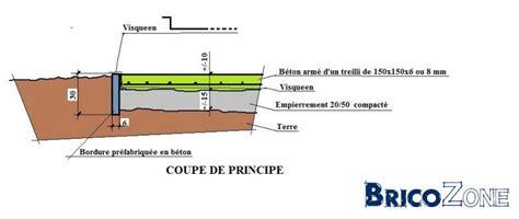 faire une dalle beton 945 dalle pour abri jardin meilleure m 233 thode