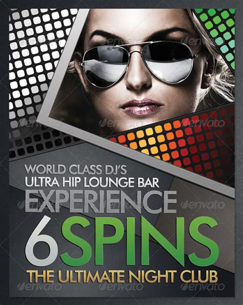 free nightclub flyer design templates flyer templates 30 premium advertisement designs