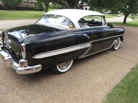 1954 chevy bel air hard top 1954 chevrolet belair 2 door hardtop for sale chevrolet