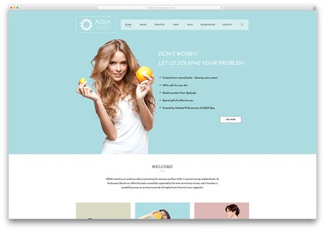 spa website inspiration 30 beautiful spa beauty salon wordpress themes 2018