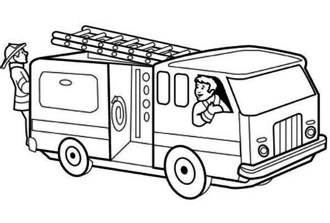 coloring pages fire truck printable get this printable fire truck coloring page for kids 5181