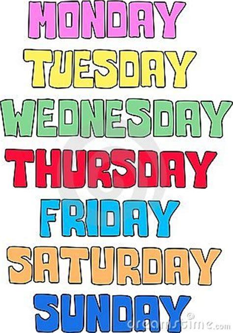 week day weekday pattern royalty free stock images image 14740029