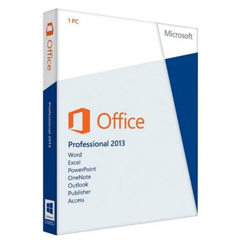 Microsoft Office 2013 Professional Plus Original 1 microsoft office 2013 professional plus 64 bit chip