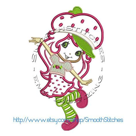 strawberry shortcake tattoo designs strawberry shortcake applique design for embroiderycorner
