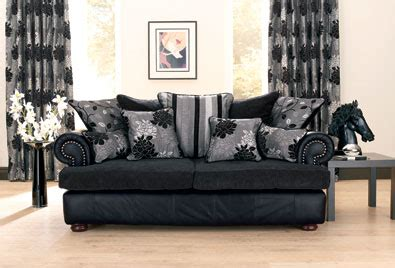 cushions for a black leather couch black leather furniture covers the naked decorator