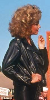 olivia newton john leather pants toronto film festival olivia newton john goes from grease