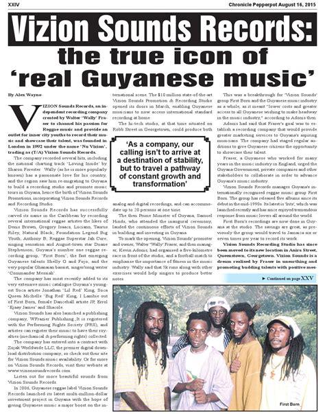Guyana Birth Records Pepperpot 2015 8 16 By Guyana Chronicle E Paper Issuu