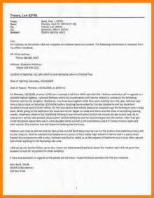 Incident Report Letter Template 8 sample of incident report letter template farmer resume