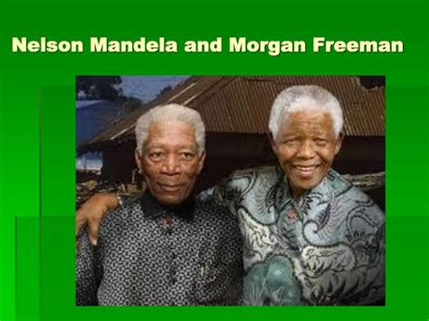 freeman and nelson mandela ppt modern history of south africa idea statements