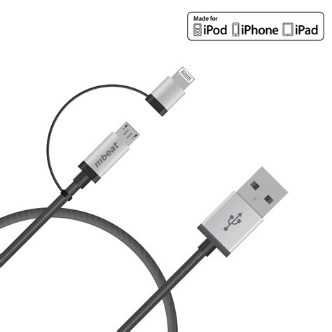 Micropack Cables Mfi Cable I 100 ultra imagination technology pty ltd 100 australian company 2 in 1 lightning micro usb