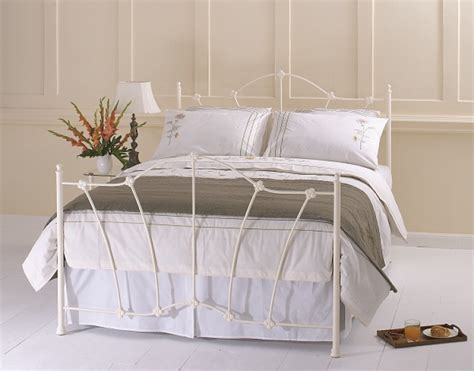 single bed headboards uk obc thorpe 3ft single glossy ivory metal headboard by