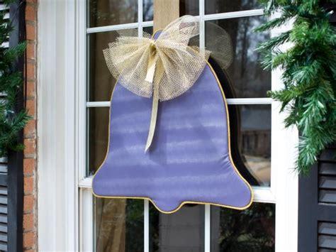 diy upholstered window ornaments hgtv
