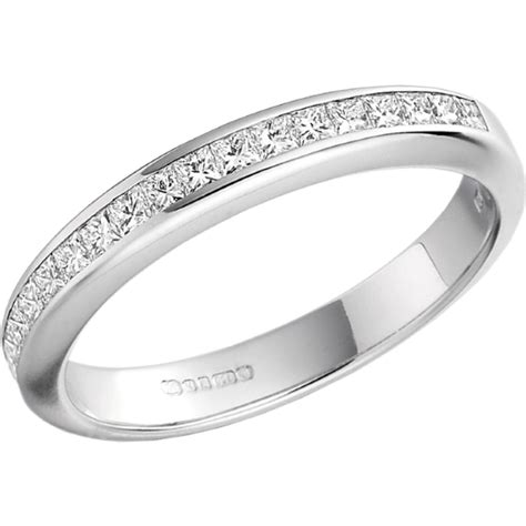 ehering diamant halb eternity ring ehering mit diamanten fuer dame in