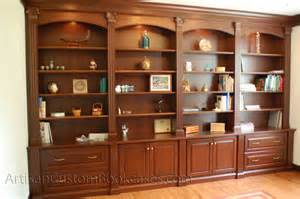 artisan custom bookcases