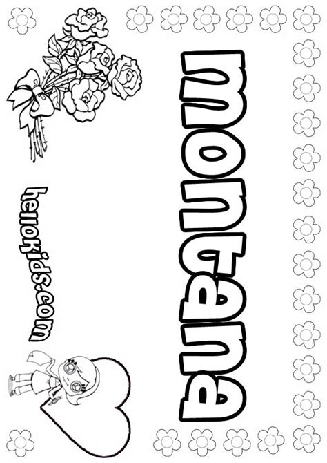 Montana Coloring Pages Hellokids Com Montana Coloring Page