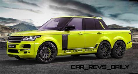 range rover pickup startech range rover 6x6 pickup