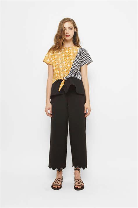 Pinkan Blouse woven blouse yellow batik pinkan cottonink