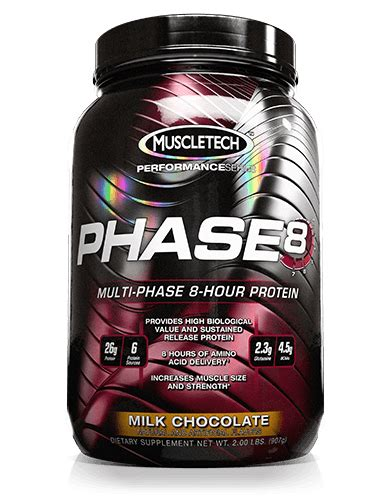 Whey Phase 8 phase8 muscletech