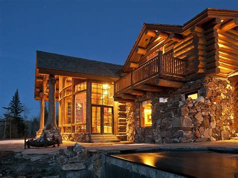 Luxury Cabin luxury log cabin home luxury log home luxury