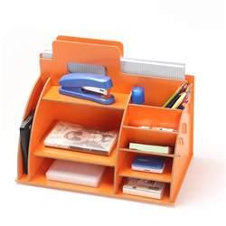 Desk Organizer Shelf Diy Modern Wooden Storage Box Desk Organizer For Cosmetics Desktop Storage Shelf Cabinet Wood