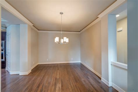 Lighting For Basement Ceiling by Dining Room With Crown Molding Transitional Dining