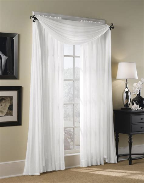 white window drapes curtains with sheers decorate the house with beautiful