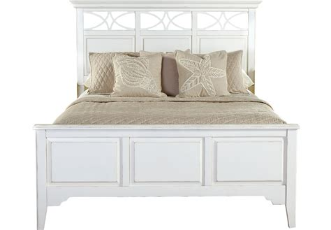 Nice Desks cindy crawford home seaside white 3 pc queen panel bed