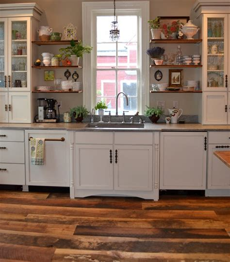 modern kitchens of buffalo buffalo new york kitchen with reclaimed hardwoods flooring