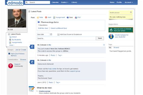 edmodo notifications new technologies and 21st century skills