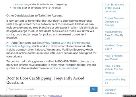 door to door car shipping service door to door auto transport and car shipping services by a