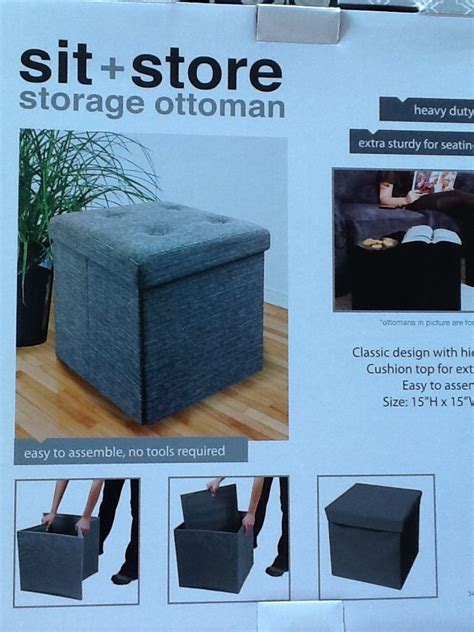 sit and store storage ottoman sit store storage ottoman from simple concepts found it