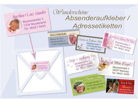 Adressaufkleber Auf Briefumschlag by Absenderaufkleber Adressaufkleber Adressetiketten Mit Foto