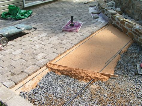 sand for patio pavers projects003 jp s home improvement