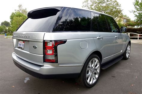 silver range rover 2015 2015 land rover range rover supercharged indus silver
