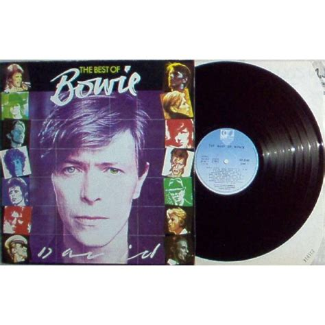 david bowie best of bowie the best of bowie 1980 16 trk lp absolutely unique
