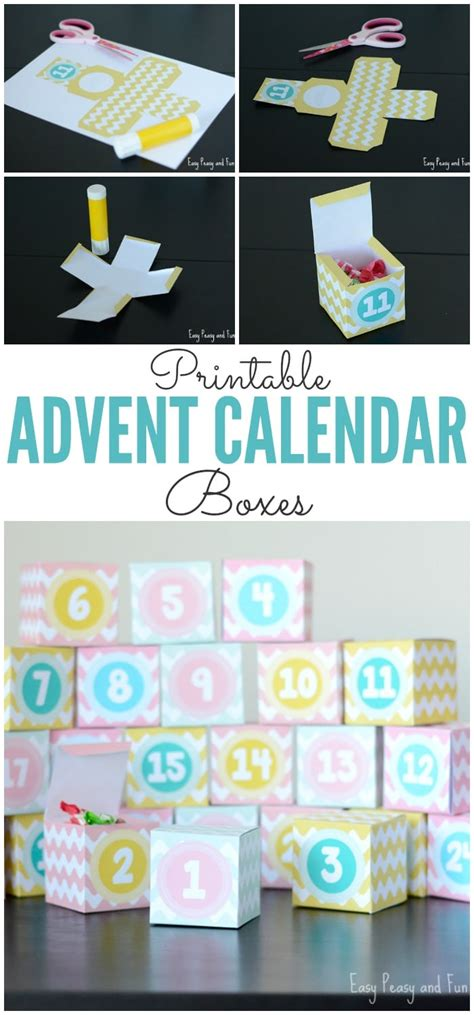 printable advent calendar boxes printable advent calendar boxes easy peasy and fun