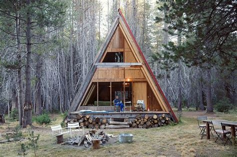 how to build an a frame tiny house cabin home design